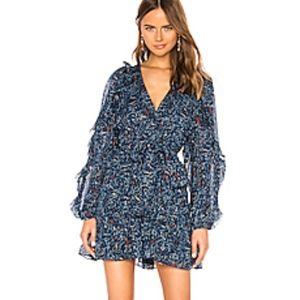 Ulla Johnson *NWOT* Blue Maita Dress est. 6